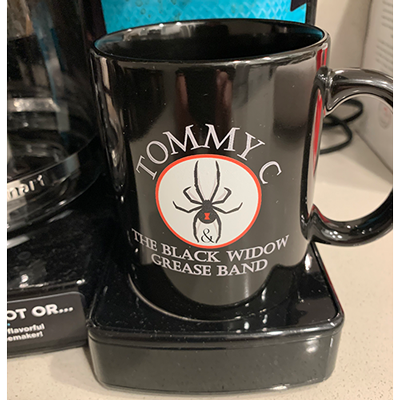 Tommy C & the Black Widow Grease Band Coffee Mug